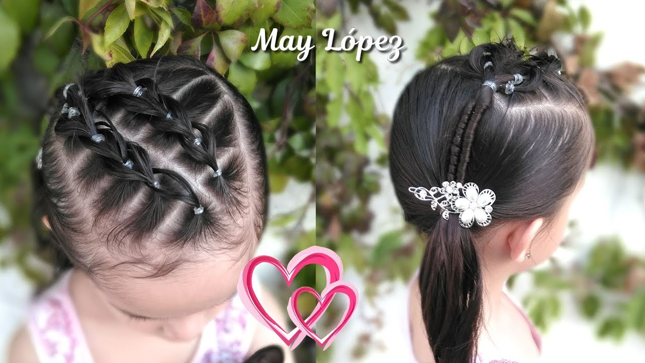 Peinado De Corazon Para San Valentin Peinados Para Ninas May