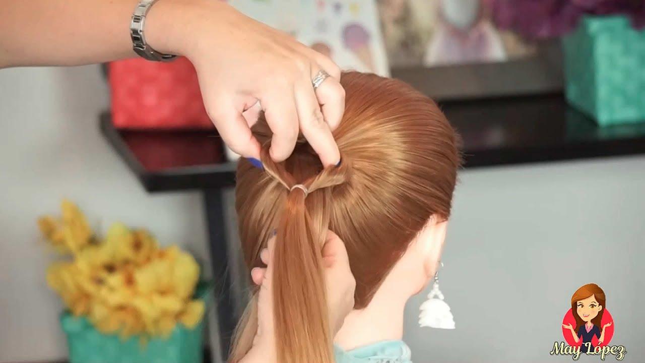 2 peinados FÁCILES para niñas