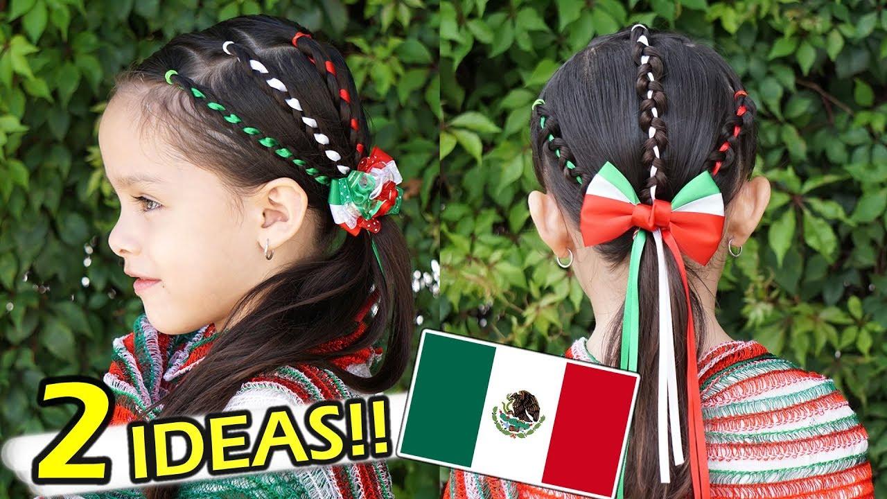 Peinados para las Fiestas Patrias 2019 | Peinados mexicanos