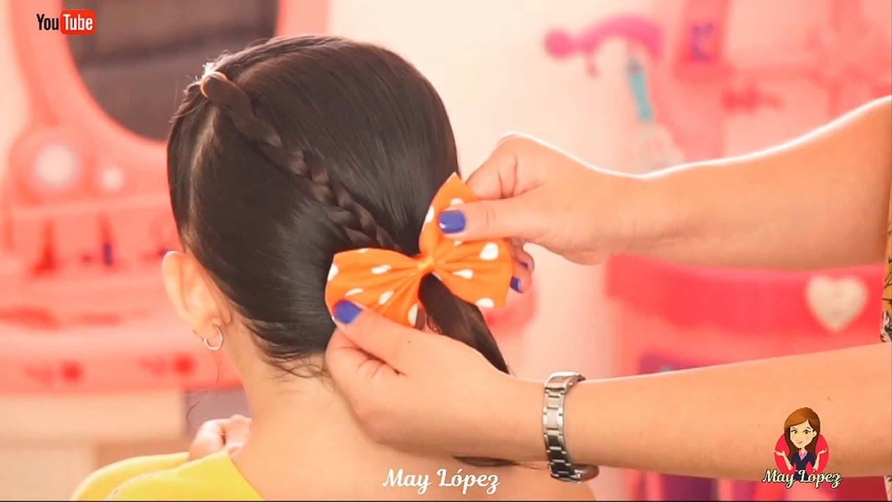 5 Peinados Sencillos para la Escuela Recopilación