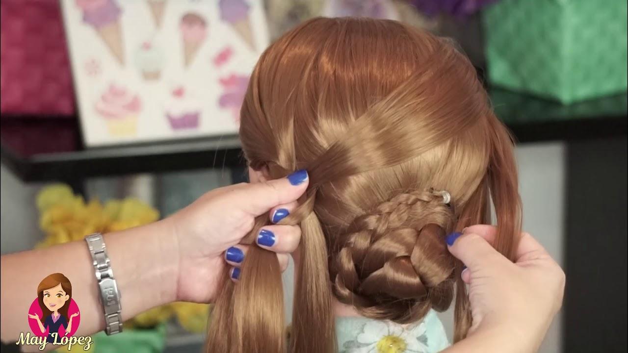 Peinado Elegante para Fiestas Súper Fácil