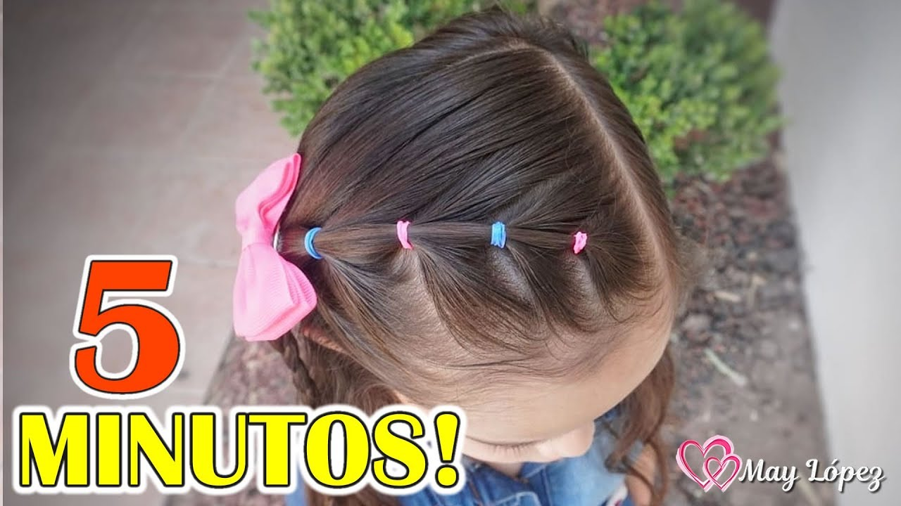Peinado En 5 Minutos Para NIÑAS!!!