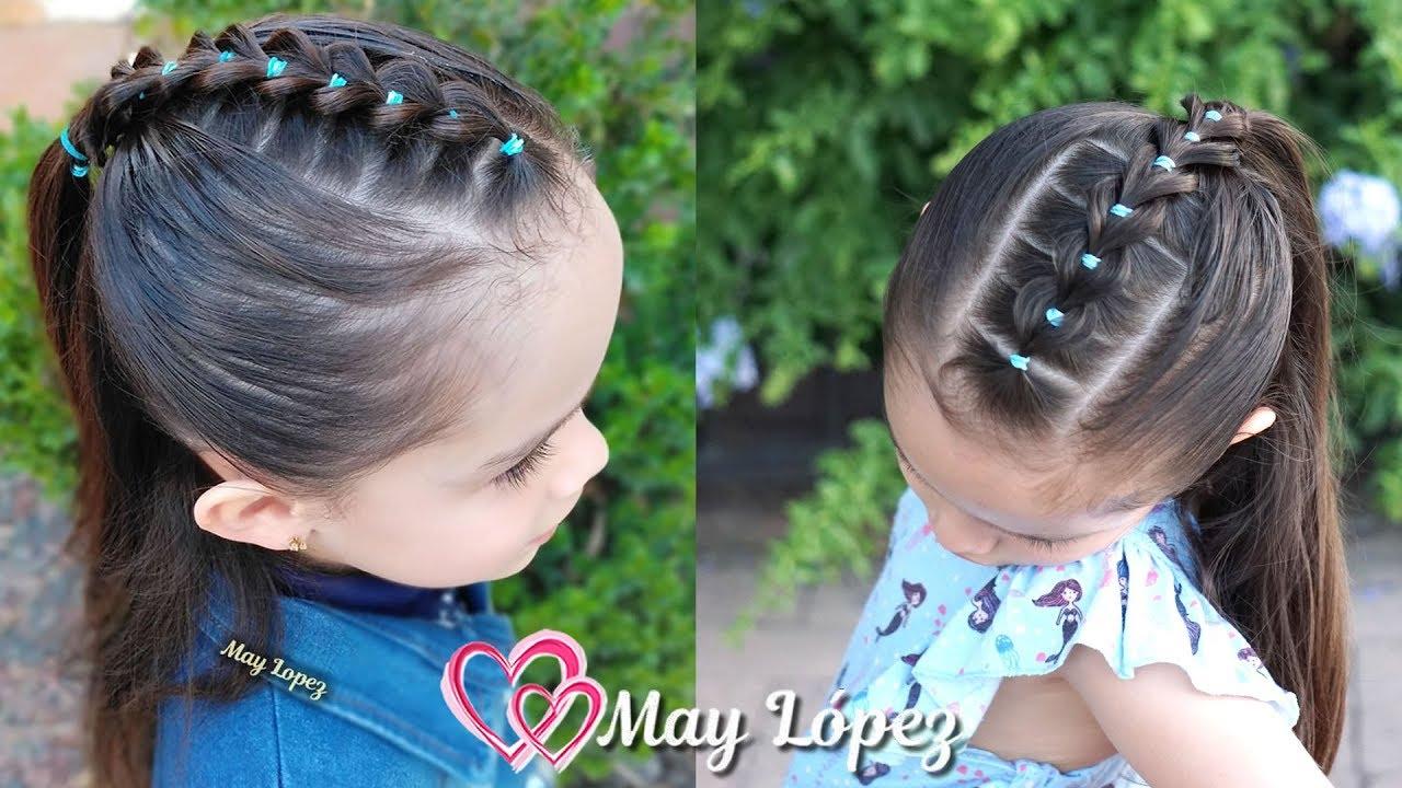 PEINADO PARA NIÑAS 2019 | Peinados con cabello suelto para niñas