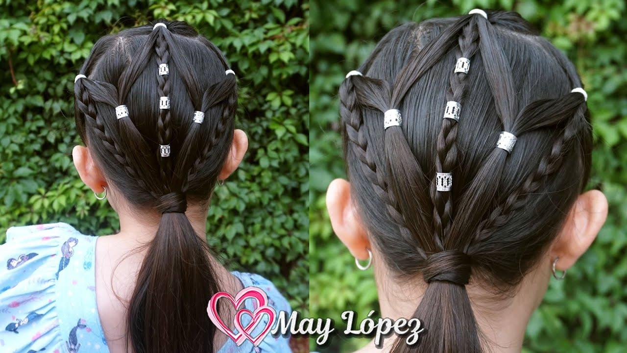 Peinado Fácil para Niñas con pelo corto | May López