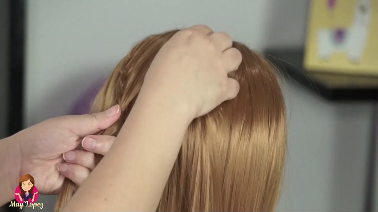 Peinado Fácil con Trencitas | May López