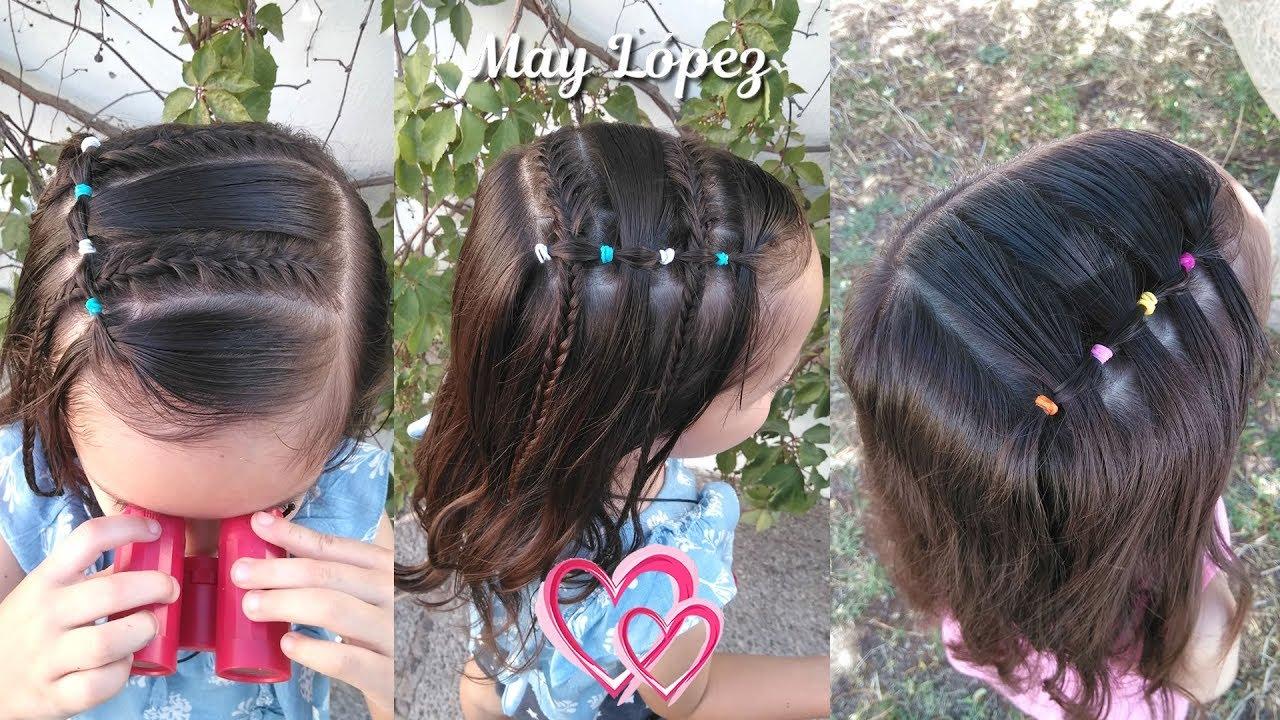 Peinados Faciles Con Ligas Para Pelo Corto Peinados Novias