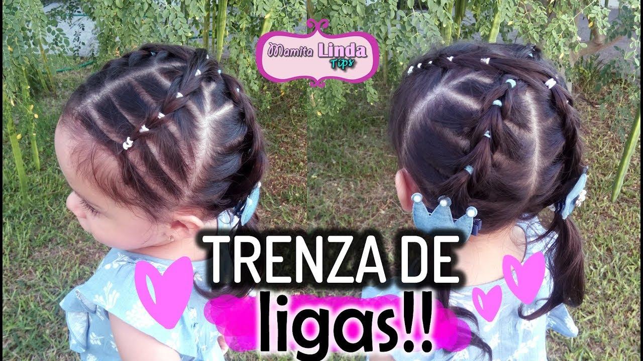 Peinado Para Ninas Con Ligas Y Chongos Peinados Faciles May