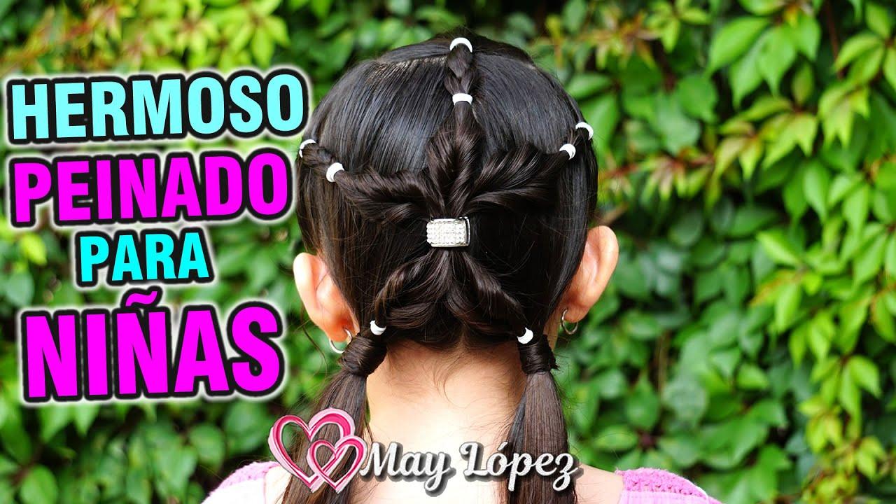 Hermoso peinado de Flor para tu Princesa | May López