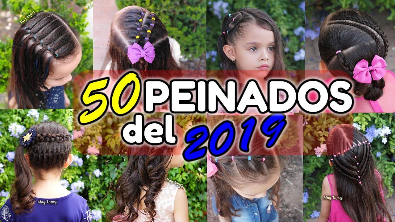 ¡¡Los 50 Mejores Peinados Para Niñas del 2019!!